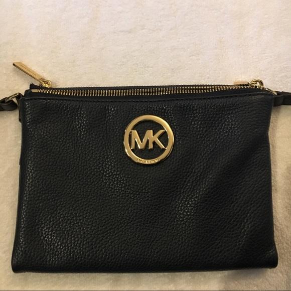 436b2c8516a MICHAEL Michael Kors Bags   Michael Kors Adele Double Zip Crossbody ...